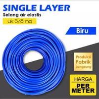 Selang Air Elastis 5/8 Inci Biru Figo Flexy Ringan Kuat Tahan Lama
