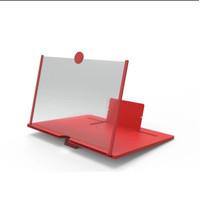 Kaca Pembesar layar HP 3D F1/ Smartphone 3D portable/ (Tanggung/L)
