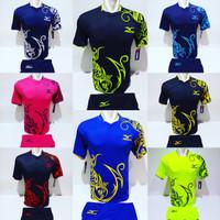 Baju Volly Jersey Futsal Kaos Bola Setelan Olahraga Voli Mizuno 5