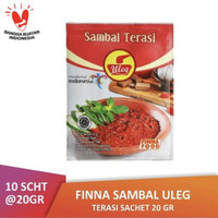 Finna Sambal Uleg Terasi Sachet 10x20gr