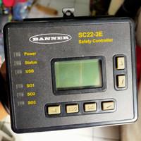 banner SC22-3E safety controller