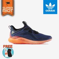 sepatu adidas alphabounce - Black Orange