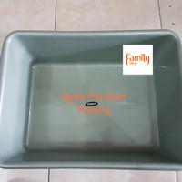 Bak Kotak Besar / Baskom Persegi Hidroponik XL / Bak Tahu Jumbo Tebal