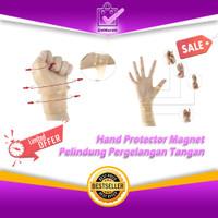 Hand Protector Magnet - Pelindung Pergelangan Tangan Silikon Magnetic