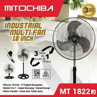 MITOCHIBA industrial fan kipas besi MT 1822J - kipas angin tornado 18