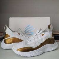 Sepatu Basket Under Armour UA Brand Curry 8 Golden Flow 3024456-102