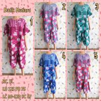 Piyama Setelan Batik Baju Tidur RC 5L HAP Busui Bigsize Jumbo 2