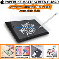 iPad Pro 9.7 9,7 Inch A1673 A1674 A1675 Paperlike Paper Like Antigores