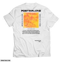 Kaos Pakaian Post Malone Unisex Rap Tee TShirt Protohype baju Rapper