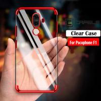 Case Xiaomi Pocophone F1 CAFELE Plating Original Soft Silicone Clear
