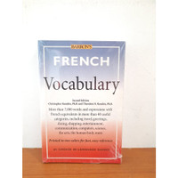 Kamus Bahasa Perancis Barrons - Original Import