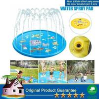 kolam air mancur anak water spray pad - Kolam BABY SHARK 130 cm - 130cm