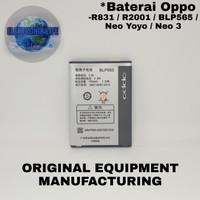 Baterai Oppo Yoyo R2001 BLP565 Original Battery Batre
