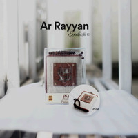 Al Quran Pria Madina AR RAYYAN Cover Exclusive Cream Shack