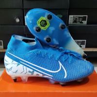 Sepatu Sepak Bola Nike Mercurial Superfly VII Elite Blue Hero Anticlog