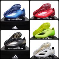 sepatu sepak bola Adidas predator X techfit sol bening import premium