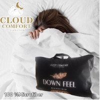 Bantal Downfeel/bantal kepala/bantal tidur/bantal bulu angsa sintetis