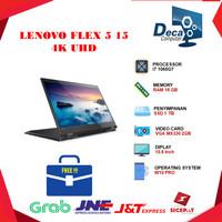 Laptop Lenovo Flex 5 15 4K 2in1 i7 1065G7 16GB 1 TB SSD MX330 WIN 10