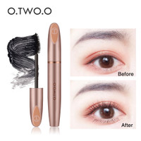 O.TWO.O 3D Silk Fiber Eyelash Black Mascara Waterproof Long Lasting