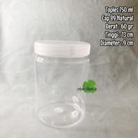 (GOJEK) Toples Jar 750 ml ekonomis toples plastik kue kerupuk cookies