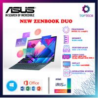 ASUS ZENBOOK DUO UX482EG - i7 1165G7 16GB 1TBSSD MX450 2GB FREE OFFICE
