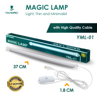 MAGIC LAMP LAMPU LED PANJANG PORTABLE USB LAMPU BELAJAR BACA ETALASE