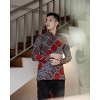 Kemeja Batik Pria | Lengan Panjang | Regular Fit | Bhinneka - S