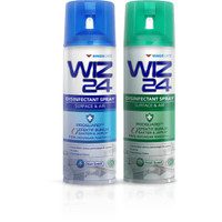 WIZ24 DISINFECTANT SPRAY 300ML / WIZ 24 DISINFECTANT 300 ML / AEROSOL
