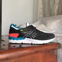 Sepatu Asics Gel Lyte V Black Original BNIB size 10/44 not III Kayano