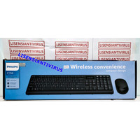 KEYBOARD MOUSE WIRELESS PHILIPS C-314 /PHILIPS KEYBOARD MOUSE SPT-6314