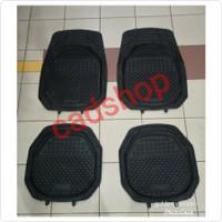 Karpet Karet Mangkok Mobil Datsun Go 2 Baris