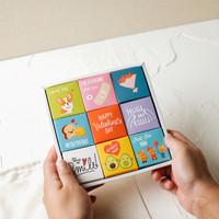 Coklat Valentine - Letter Box (3x3)