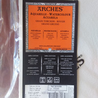 Watercolour paper Arches. Jenis rough 640 g/m2-300 lb