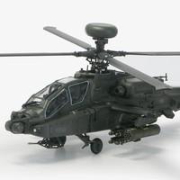 "Model Kit AcademyBritish Army AH-64 ""Afghanistant"" 12537 1/72"