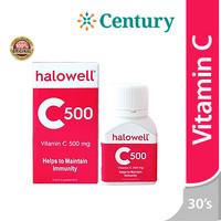 Halowell C 500 MG 30 Tablet/Vitamin C/Daya TahanTubuh/Antioksidan/Imu