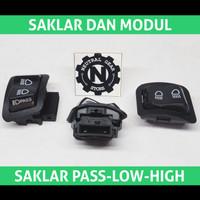 Saklar Dim Pass Beam Vario LED 110 125 150 Old Passing Lampu Motor PNP