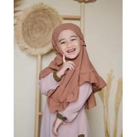 Bergo Anak Maryam Rempel Tali Kriwil Hijab Kerudung Jilbab Instan Non