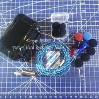 Earbud Organ K3 DIY by Organ Audio part of HRVA earphone headphone