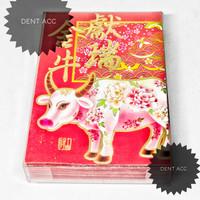 angpao shio kerbau Imlek isi 22pcs/box/2021/murah/model keren