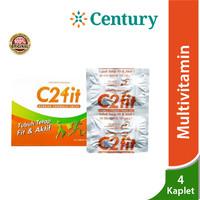 C2FIT 4 Kaplet /Vitamin C/B Complex/Zinc/Suplemen Kesehatan/Daya Tahan