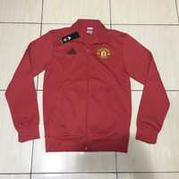 Adidas Manchester United 3-Stripes Track Jacket Red Original