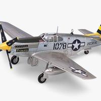 Model Kit Academy P-51C 12441/1616 Skala 1/72