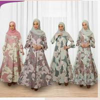 Qonitah Project Gamis Dewasa GDH 24 Baju Dress Muslimah Humaima Keke