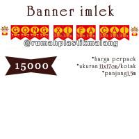 flag banner gong xi fa cai tulisan gantung kertas hiasan imlek sincia