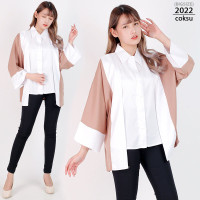 Baju Blouse Wanita Jumbo XXL LD120 Baju Atasan Big Size