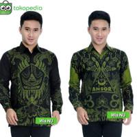 BSWART Batik Ansor Batik Banser Kemeja Banser Baju Banser Kemeja NU Ba