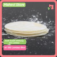 Kulit Dimsum / Gyoza / Dumpling Premium Hand Made 100% Halal Isi 150 - 7