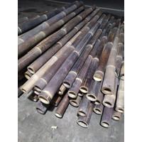 bambu hitam,batang bambu,pagar bambu,pagar rumah,pagar tanaman