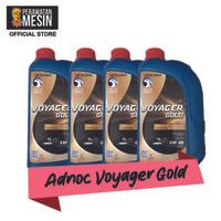 BUNDLE - Oli Adnoc Voyager Gold 1 L x4 - Adnoc Oil 5W 40 - Oli Mobil