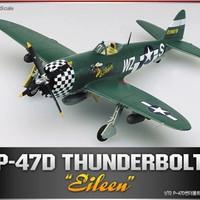 Model Kit Academy P-47D EILEEN THUNDERBOLT 12474/2105 1/72